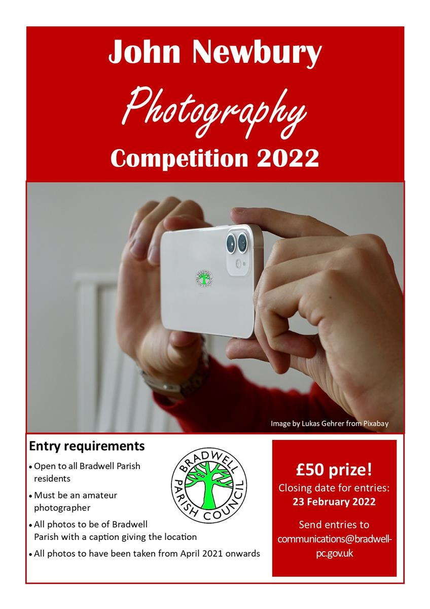 John Newbury Photographic Competition Poster